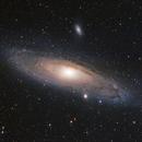 M31 with H-Alpha,                                Joschi