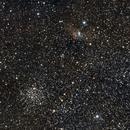 NGC7635  & M52,                                Ray Blais