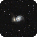 M51 - The Whirlpool Galaxy,                                pmumbower