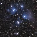 M45 Pleiades,                                Marios Tsalkidis
