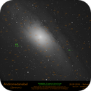 M31 - map of the centre,                                Lars Stephan