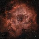 Rosette Nebula in HOO,                                Luc Germain