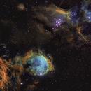 NGC 3324 and 3293,                                Martin Williams