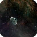 Crescent Nebula (NGC6888) updated stars processing and different taste,                                Jian Yuan Peng