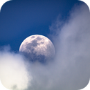 Moon With Clouds April 14 2019,                                Donnie B.