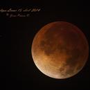 Lunar Eclipse   April,15 2014 ,                                Jesús Piñeiro V.