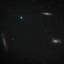 Leo Triplet - M65, M66, NGC3628,                                Barry Trudgian
