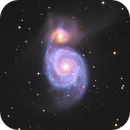 M 51 Whirlpool-Galaxy,                                CCDMike