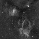 Bubble nebula region halpha,                                Marco Favro