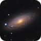 NGC 2841 - Tigers Eye Galaxy,                                Łukasz Sujka