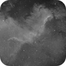 First test with Sequence Generator Pro in new location (Home Office) NGC 7000_Halpha,                                Manfred Hraba