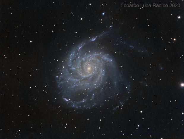 M101 from the city,                                Edoardo Luca Radi...