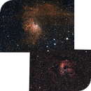 Mosaïque IC405-410,                                latrade24