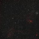 NGC 7635 & M 52 - Bubble Nebula & Cassiopeia Salt&Pepper Cluster,                                Beatrice Heinze
