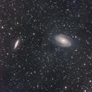 M81 & M82 from My Backyard,                                David McClain