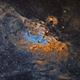 M 16 The Eagle Nebula SHO,                                Marc Verhoeven