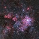 Tarantula Nebula (Data from Wei-Hao Wang),                                sergio.diaz