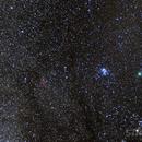 46P Wirtannen, Pleiades and California Nebula,                                Starlight Hunter