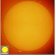Sun in H-alpha, 20191017,                                Geert Vandenbulcke