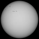Sun in Whitelight 15th April 2015 , 10:30 BST,                                steveward53