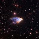 NGC 2261 - Hubble´ s Variable Nebula RGB - Liverpool Telescope :-),                                Daniel Nobre