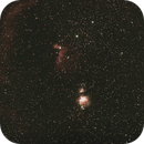 Orion constellation - center,                                C.A.L. - Astroburgos