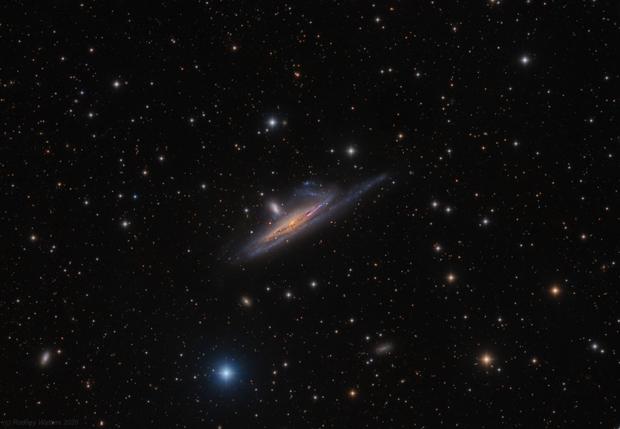 NGC1532/1 - Haley's Coronet,                                Rodney Watters