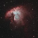 NGC281 - PACMAN NEBULA in HSOO,                                Jérémie
