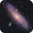 M31 •Andromeda Galaxy in HaLRGB,                                Douglas J Struble