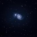Whirlpool-Galaxie,                                Ulrich Strobel