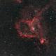 IC 1805 - The Heart Nebula,                                mxpwr
