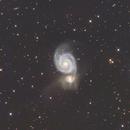 M51 imaged by RC6,                                djf2wgz1314