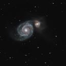 M51 Whirlpool Galaxy,                                Greg Derksen