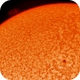 Sun Spot and Proms Captured on 5/14/2019,                                Chuck's Astrophot...