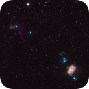Wide view of the Orion Constellation,                                gibran85