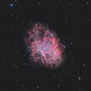 M1 - Crab Nebula / 2020,                                Mikko Viljamaa
