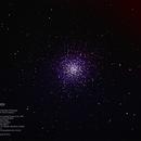 Messier 13 in Hercules,                                MJF_Memorial_Observatory