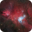 NGC 2264 and Sh2-73 (new revision),                                pete_xl