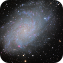Messier 33 - The Triangulum Galaxy  - Spiral galaxy 2.73 million light-years (ly) from Earth.,                                Chris Turner