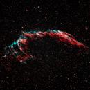 Eastern Veil nebula (HOO),                                Andrew Gutierrez