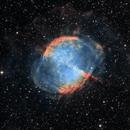 The Dumbbell Nebula in HOO,                                Alex Roberts