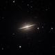 M104 Sombrero Galaxy,                                Everett Lineberry