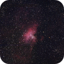 M16 Eagle Nebula with 1000mm F/5 Newton and Sony A7S,                                Norbert Reuschl