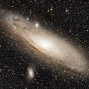M 31, three nights of Andromeda,                                Michael Timm