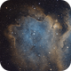 Sh2-199 - Head of the Baby Nebula,                                Samuli Vuorinen