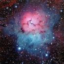 M20 / Trifid Nebula,                                Bob Lockwood