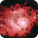 M8 Laguna Nebulae,                                Enrico Scheibel