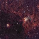 Ic 417- ngc 1931- nébuleuse de l'araignée et de la mouche HOO,                                astromat89