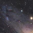 NGC 206 - Peering into the Andromeda Galaxy M31,                                Douglas J Struble