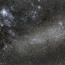 Large Magellanic Cloud  and Tarantula Nebula,                                CarlosSagan